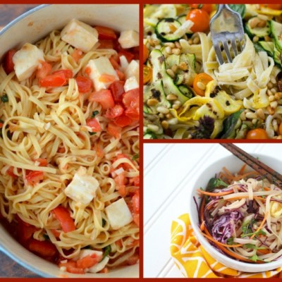 25 Fabulous Pasta Dishes for Meatless Meals
