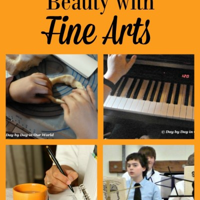 Add An Element of Beauty with Fine Arts in the Homeschool