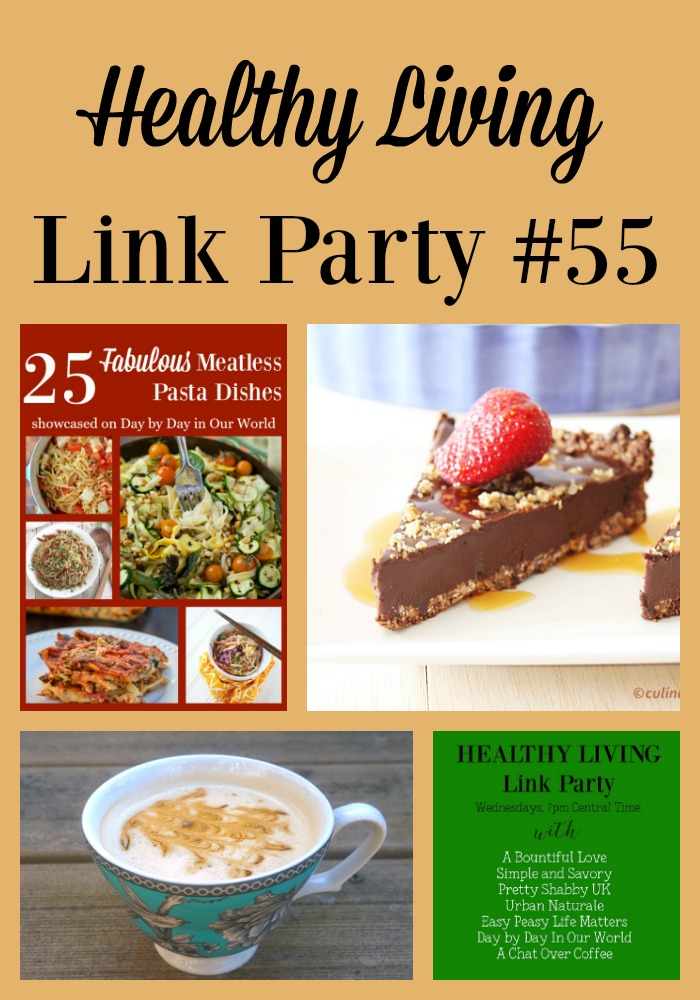 Check out the featured posts in the Healthy Living Link Party Edition 55 co-hosted by Day by Day in Our World