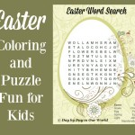 Easter Coloring and Puzzle Fun for Kids