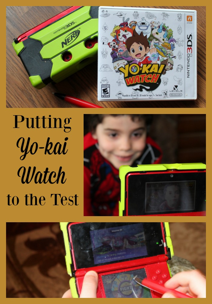 Games for the Nintendo 3DS are highly sought after in our house. The boys put the new game Yo-Kai Watch to the test in our house. #YOKAIWATCH #AD