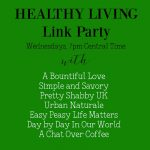 Healthy Living Link Party #53