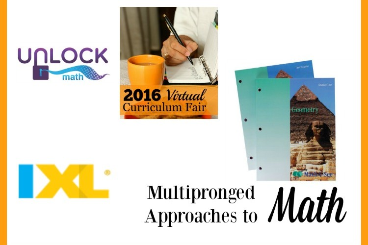 Multipronged Approaches to Math Virtual Curriculum Fair 2016
