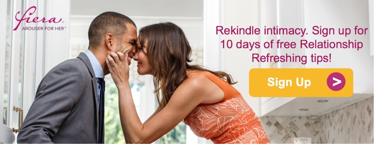 Rekindle with 10 days of Relationship Refresh tips from Fiera for her.
