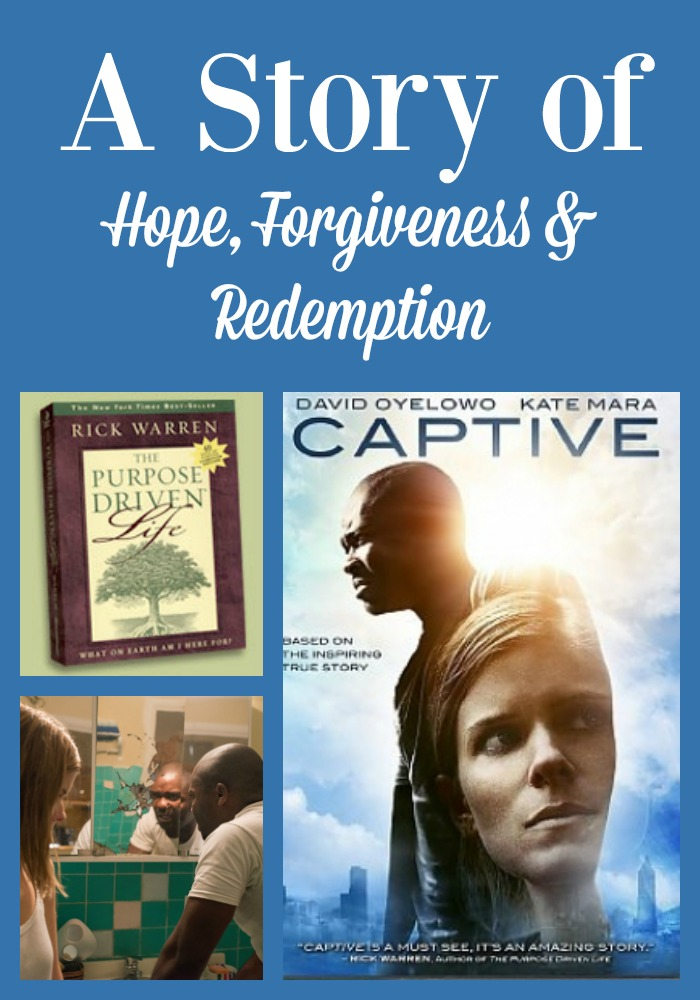 The Christian film Captive is a story of hope, forgiveness and redemption. Movie Review