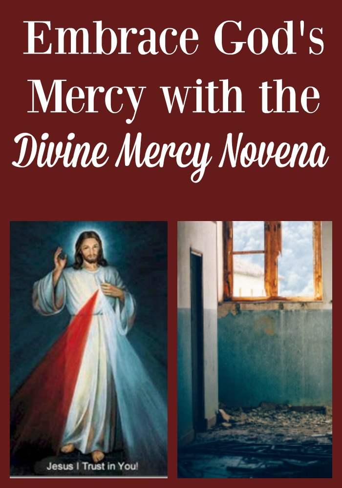 Though the world is filled with sorrows we can find hope and healing. Embracing God's Mercy with the Divine Mercy Novena helps.