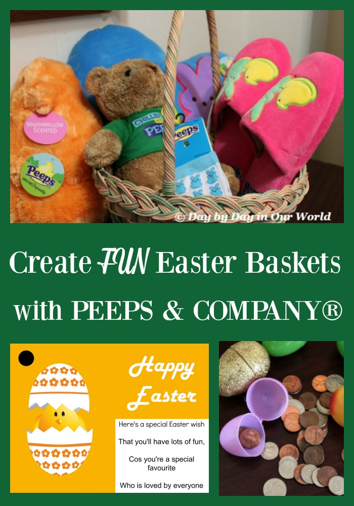Want to bring some FUN to your Easter Baskets this year? Consider adding some nonedible products from PEEPS & COMPANY®.