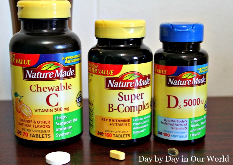 Adding Nature Made Vitamins Minerals and Supplements to My Daily Routine After Consultation with my Physicians