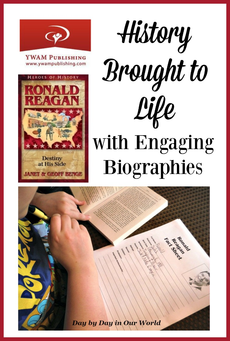 Bring history to life for your child with engaging biographies in the Heroes of History series. Read our review for Ronald Reagan.