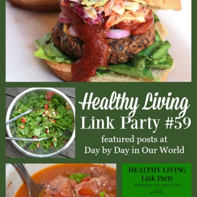 Healthy Living Link Party #59