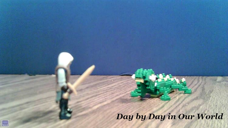 Lizard Takeover Still Shot Captured Using Stopmotion Explosion