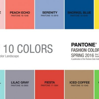 10 Top Colors Spring 2016