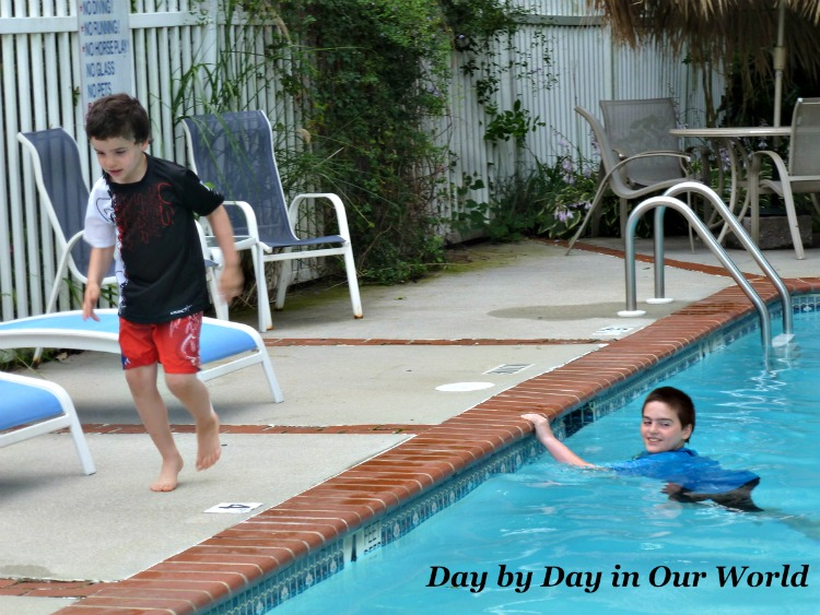 As the weather warms swimming will be a fun family adventure. #ad #MadeforAdventure