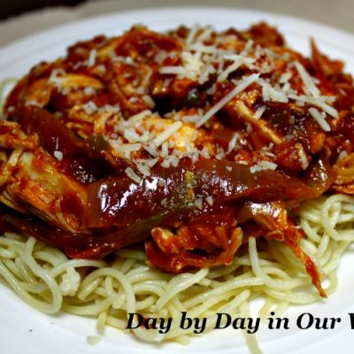 Chicken Cacciatore Made Easy with RAGU Homestyle Sauce