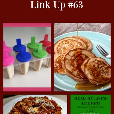 Healthy Living Link Party #63