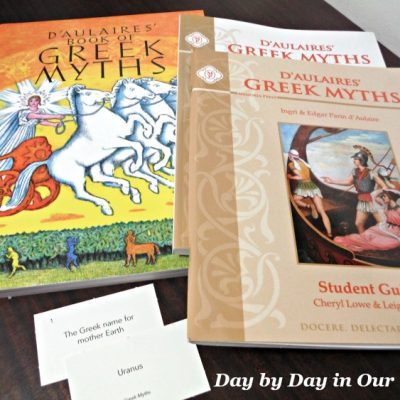 Learn Ancient History with D'Aulaires' Greek Myths