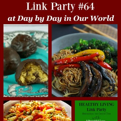 Healthy Living Link Party #64
