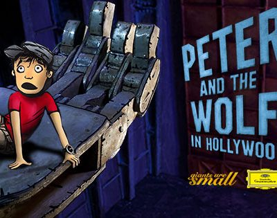 Peter and the Wolf in Hollywood App
