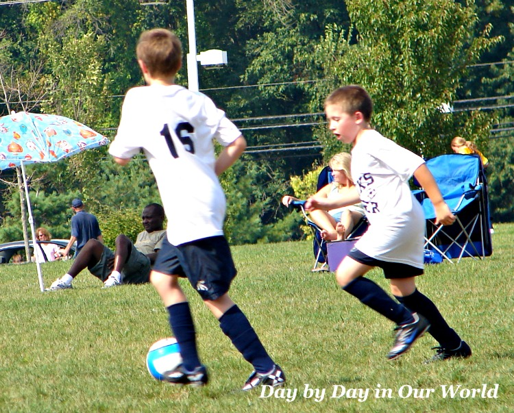 Playing Soccer Works up a Thirst. #ad #MadeforAdventure
