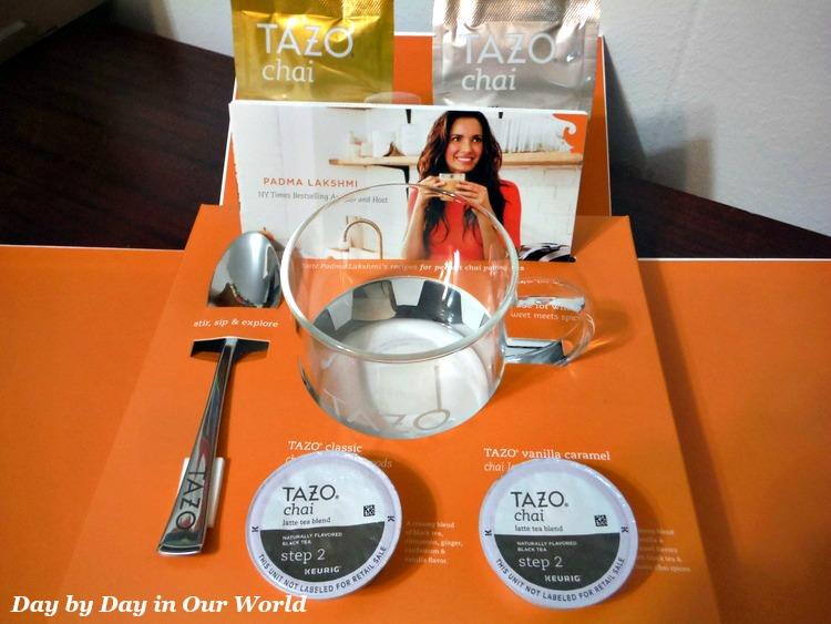 Sweet Meets Savory TAZO® Chai Latte Collection