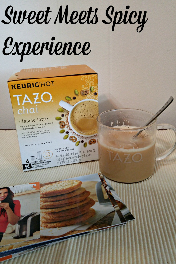 Adore a hot beverage with great flavor? Come read about my Sweet Meets Spicy Experience with TAZO® Chai Latte.