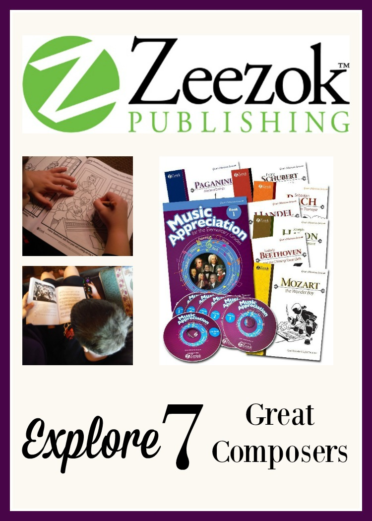 Teaching Fine Arts subjects can be a challenge for homeschoolers. Zeezok Publishing's Music Appreciation for Elementary Grades has you covered whether you use it over 1 or 2 years.