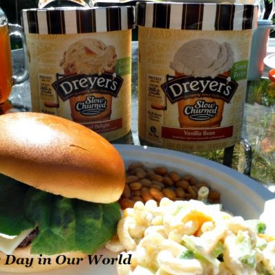 Easy Summer Barbecue with Veggie Rich Macaroni Salad