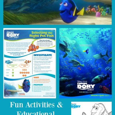 Activities & Educational Materials for Finding Dory