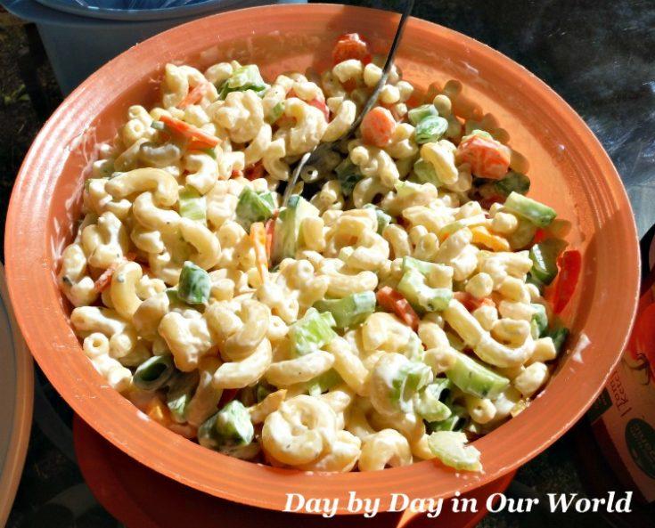 Veggie Rich Macaroni Salad