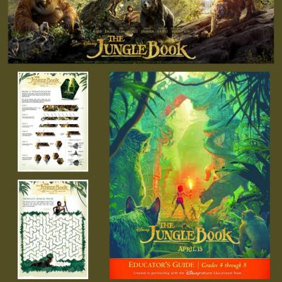 Fun Activities & Educator Guide for The Jungle Book