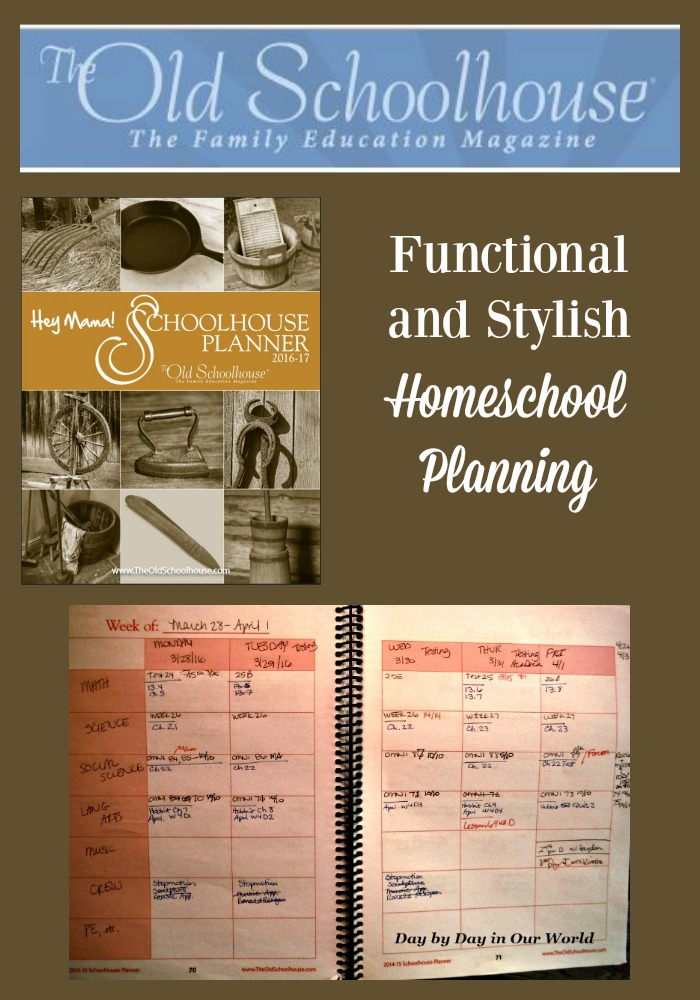Need a pen and paper method of homeschool planning or record keeping? Then take a look at the Hey Mama! Schoolhouse Planner 2016-2017.