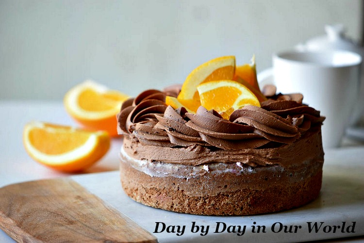 This Chocolate Orange Cake would be perfect for a summertime gathering or special event.