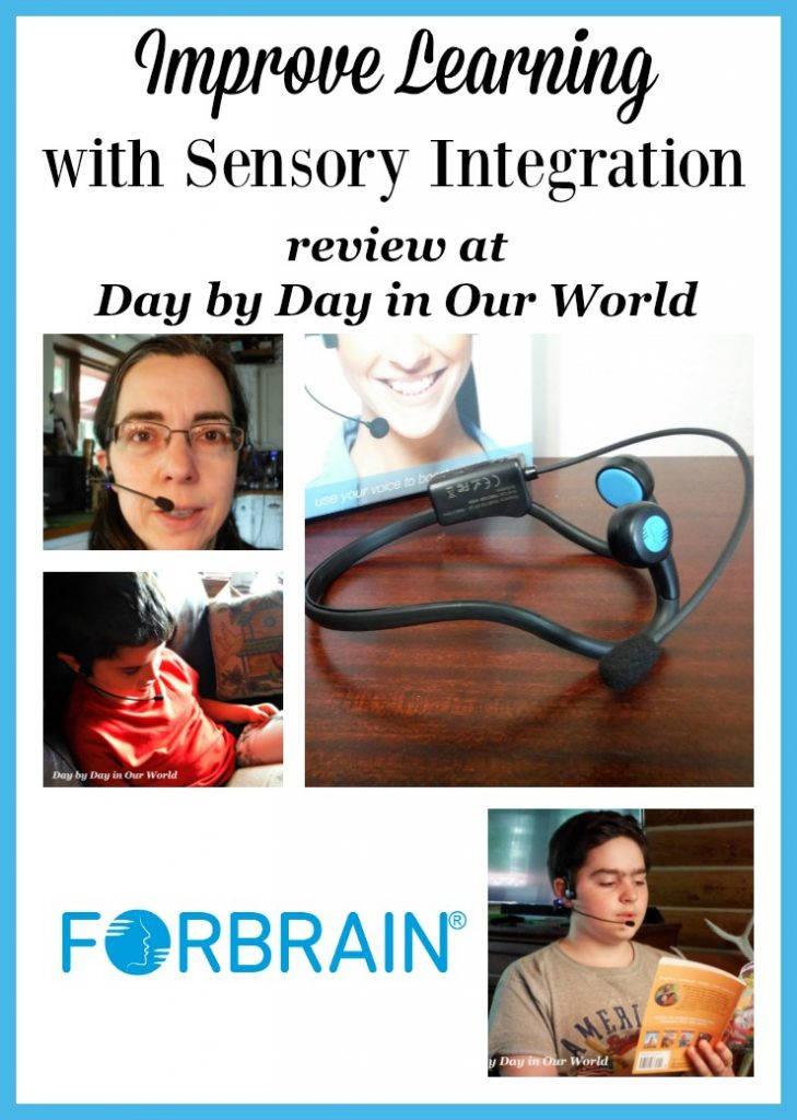 Using technology for sensory integration like the Forbrain bone conducting headset can help improve overall learning and memory. Read our review and follow the link to other posts on how it worked in their homes.