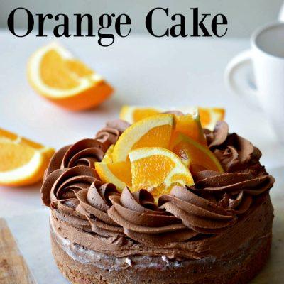 Blissful Chocolate Orange Cake for Summertime Gatherings