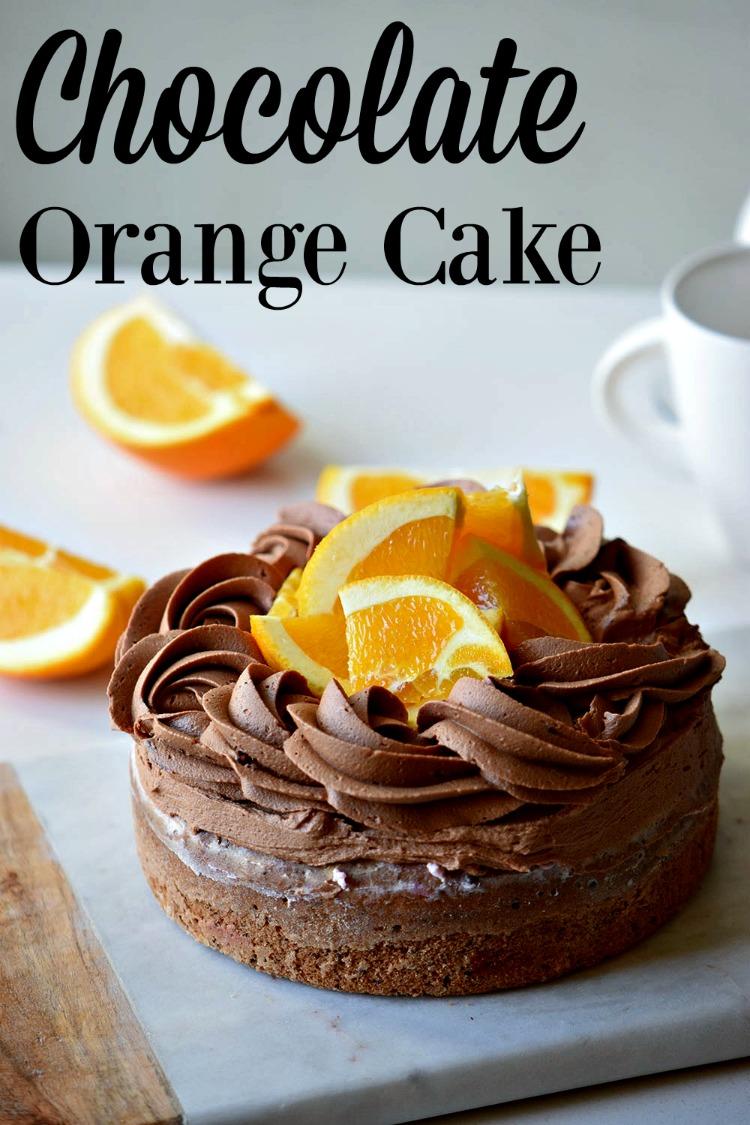 Easy Chocolate Orange Marble Cake Recipe