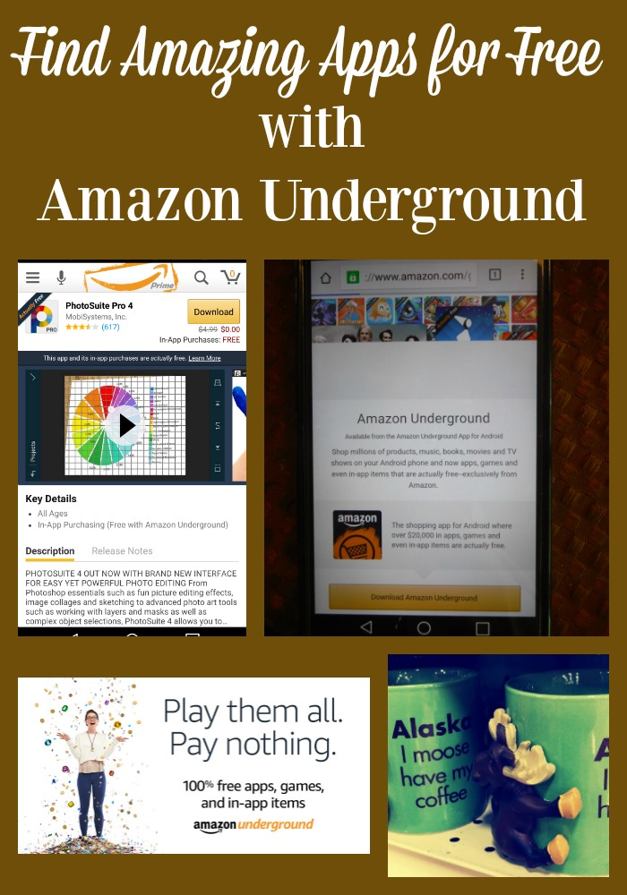 You can find amazing apps in Amazon Underground. Best of all they are totally free #amznunderground #ad