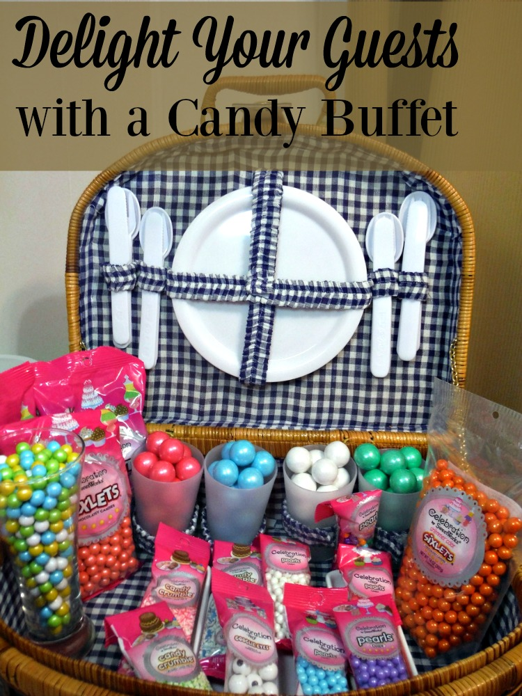 Backyard celebrations or picnics at the park deserve something sweet to end the meal. Consider how you might delight your guests with a candy buffet.