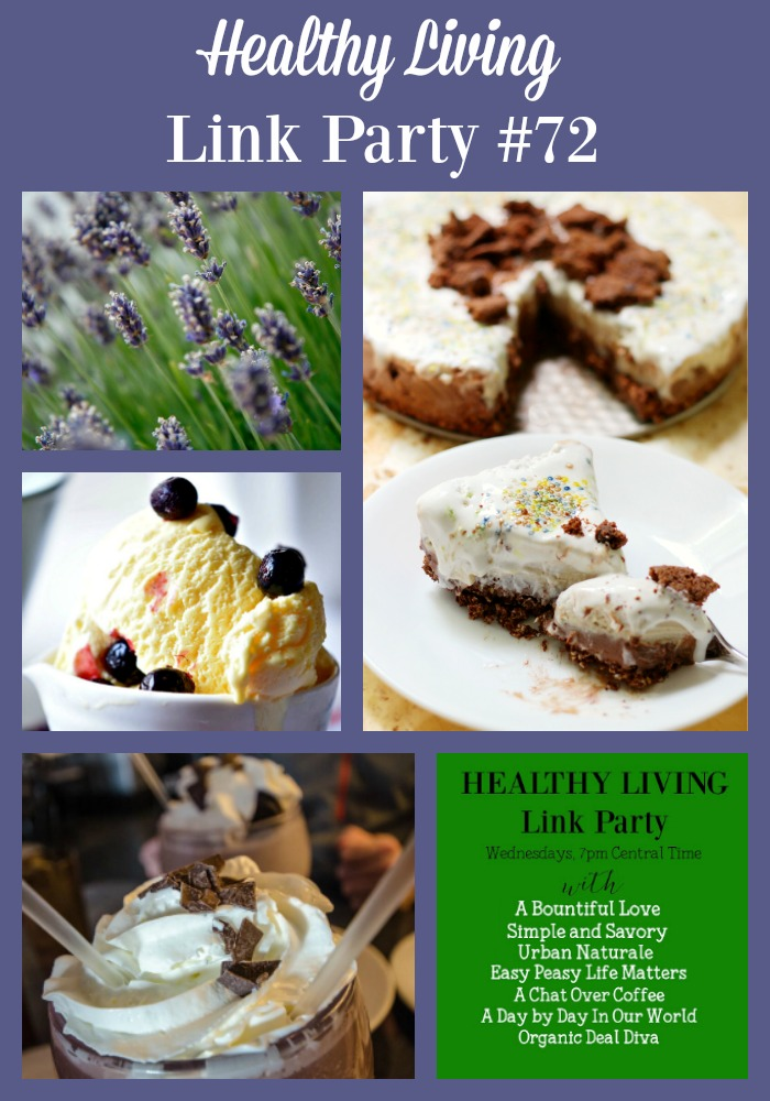 Cold Delights and Plants from your Garden to Heal are featured in Healthy Living Link Up #72 at Day by Day in Our World.