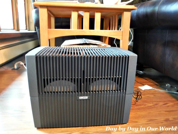 I set the Venta Airwasher up in our main living space with a few feet around it and tucked away from heavy foot traffic.