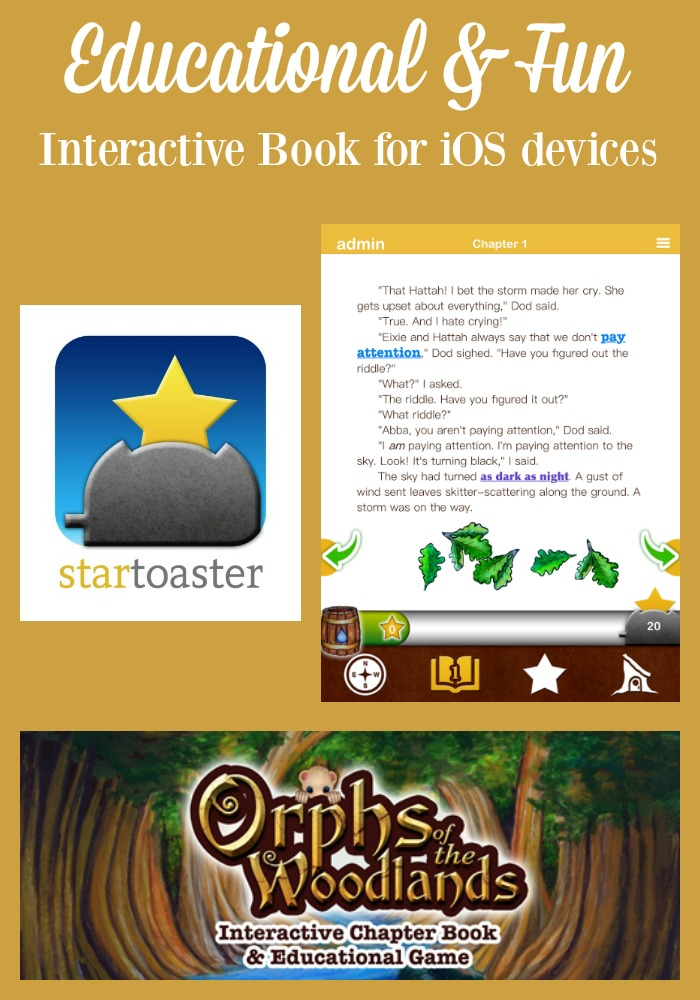 Orphs of the Woodlands is an interactive book for iOS devices.