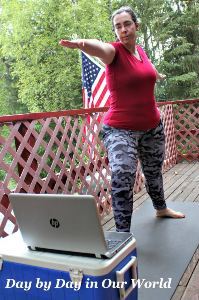 Rather than do routines on my own the YogaDownload videos help me stay focused and remember proper form.