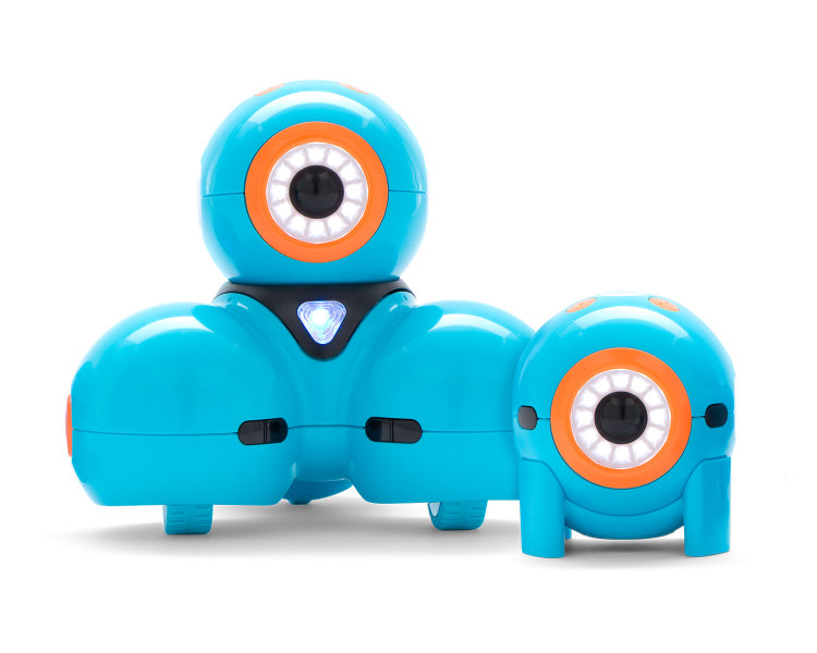Dash and Dot are robots for kids from Wonder Workshop