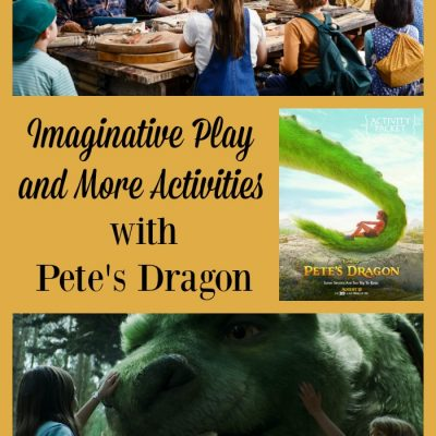Imaginative Play and More Activities with Pete's Dragon