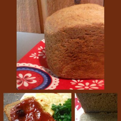 Delicious Irish Potato Brown Bread Made in a Bread Machine