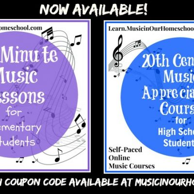 Easily Expand Your Creative Studies with Music in Our Homeschool