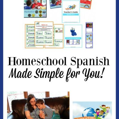 Foreign Languages for Kids by Kids: Homeschool Spanish Made Simple