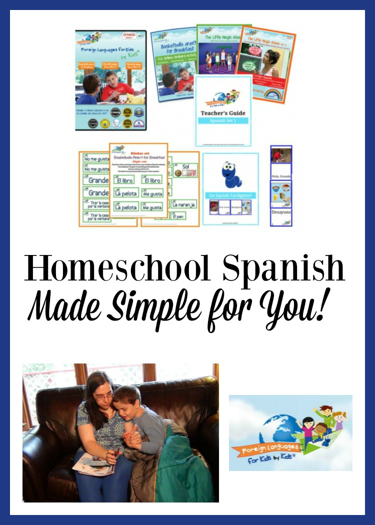 Need a homeschool Spanish program? Foreign Languages for Kids by Kids could be a great fit for you.