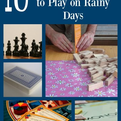 10 Classic Games to Play on Rainy Days