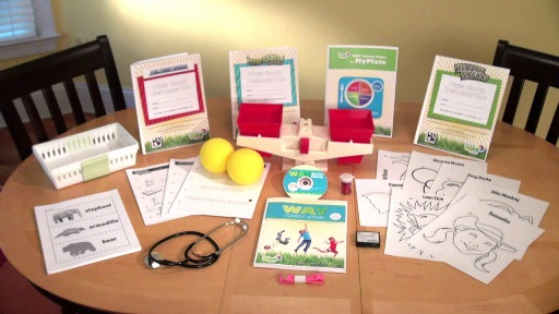 WAY Comes Home Kit for Homeschool Health and Nutrition education in the elementary years