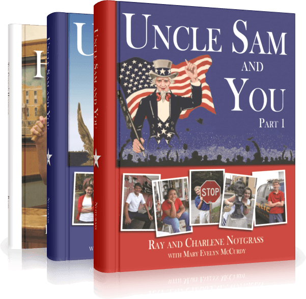 Uncle Sam and You from Notgrass Publications teaches middle schoolers about American Government and Civics.